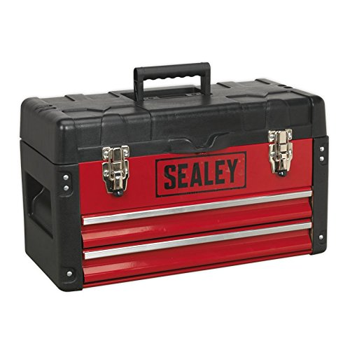 SEALEY AP547 Tool Box mit 2 Schubladen, rot, 500 mm 2 Schubladen Tool Box