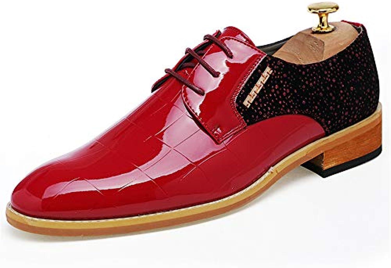 Jiuyue-scarpe, 2018 Abito da Uomo a Punta in Pizzo Stringato da Uomo Formale in Pelle Scamosciata Scarpe Uomo Pelle... | all'ingrosso  | Uomini/Donne Scarpa