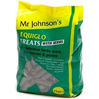 Mr Johnson's Equiglo Horse Treats & Herbs 1kg x 2 41hdbIUbBTL