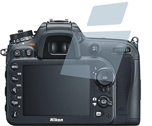 Nikon D7200 (2 Stück) PREMIUM Displayschutzfolie Bildschirmschutzfolie ANTIREFLEX Schutzhülle Displayschutz Displayfolie Folie