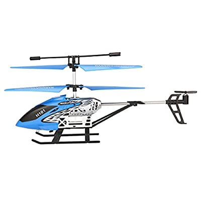 Mini Helicopter, EACHINE Tracker H101 3.5Channels RC Helicopter With Gyro Remote Controlled Rechargeable Airplane Drone for Beginner RTF