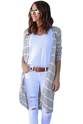 shelovesclothing - Gilet - Femme blanc blanc Gris