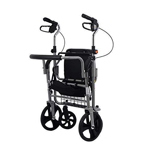 shopping cart Trolley Alten Einkaufsmauschen-Kinderwagen Falten kann Vier Runden dauern, um Lebensmittel Hilfe Schritt Trolley kaufen (Falten Shopping Cart)
