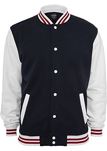 TB444 3-tone College Sweatjacket Herren