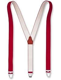 Hochwertige Hosenträger Uni Extra Starker Clip