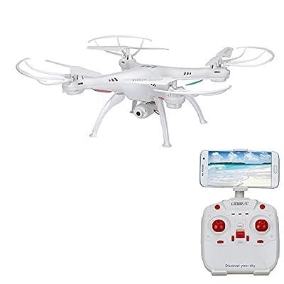 RC Quadcopter, Rcool LiDiRC L15W 4CH HD Camera WiFi FPV 2.4G 6-Axis Gyro Remote Control Quadcopter Drone AIR Press Altitude Hold