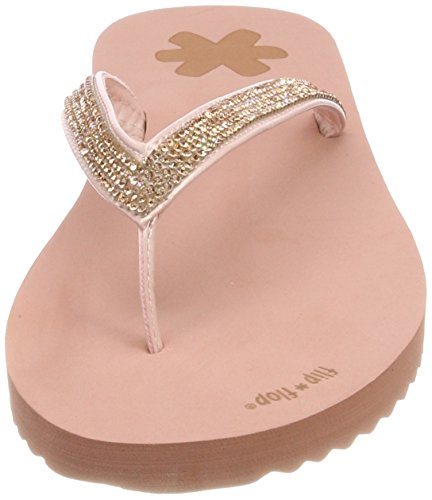 flip*flop Damen Flipglam Zehentrenner Pink (Ballet)