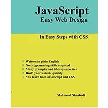 [(JavaScript Easy Web Design )] [Author: Mahmood Shanbedi] [Jun-2008]