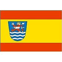 Fahne Flagge Gera 20 x 30 cm Bootsflagge Premiumqualität