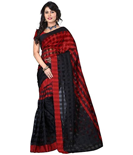 sarees for women party wear  available at amazon for Rs.199
