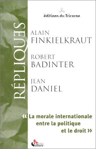 Répliques : morale internationale