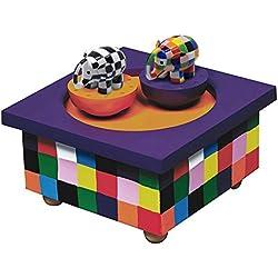 Trousselier - Caja de música para bebé Elmer Barrio Sésamo (Trousselier S95064)