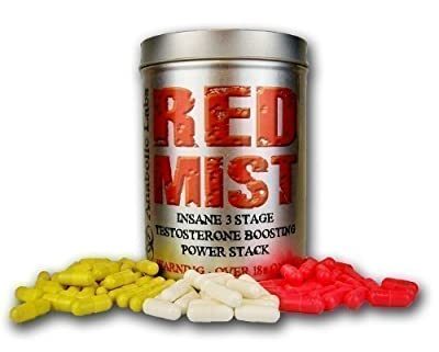 Anabolic Labs RED MIST 3 Stage Testosterone Boosting Power Stack - 1 Months Supply from Anabolic Labs