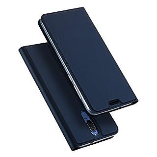 DUX DUCIS Huawei Mate 10 Lite Hülle, Skin Pro Series Ultra Slim Layered Dandy, Ständer, Magnetverschluss,TPU Bumper, Full Body Schutz für Huawei Mate 10 Lite (Deep Blue)