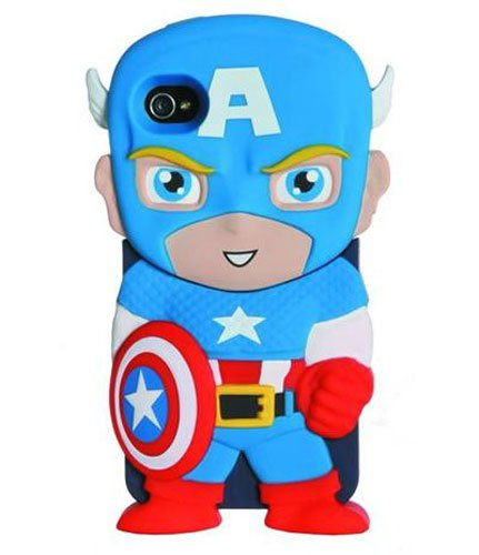 Marvel Chara-Covers Chapeautain America Iphone 4/4s Case