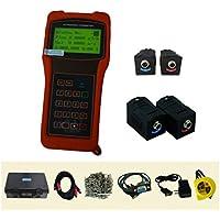 TR-DTI-100H-HS1 + HM1 ultrasuoni di portata portatile tester di velocità Tester per liquidi DN15 ~ DN700mm con staffa HS1 HM1 a temperatura elevata. Trasduttore -30 ~ flussometro DTI Meter di depurazione digitale 160 C del sensore olio - Meter Staffa