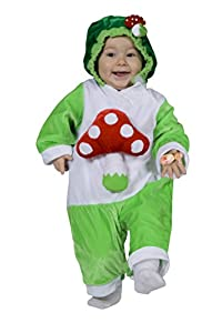 Ciao 14355-I giuggiolosi disfraz Baby 12-18 mesi Verde/Bianco/Rosso