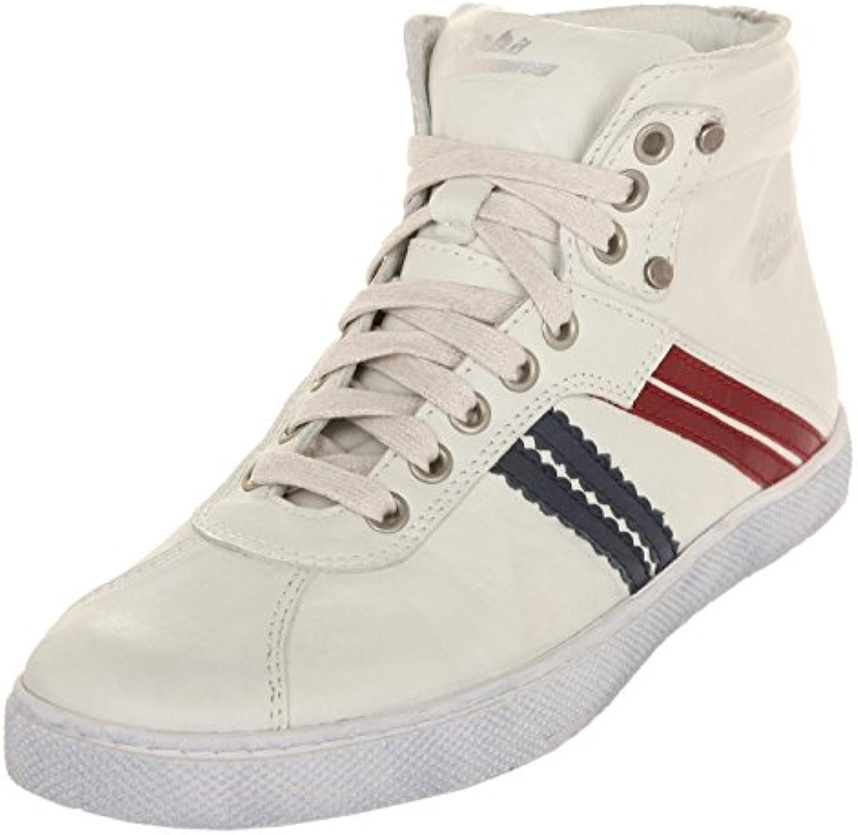 Zeha Zapatillas Sneaker High Cut Offwhite/BLU-Red 901-04