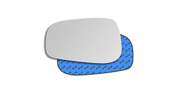 Hightecpl 87LS Left Hand Passenger Side Convex Door Wing Mirror Glass