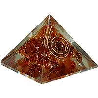HARMONIZE Karneol Stein Orgon Pyramide Energie Generator Chakra Balancing Therapie Reiki Healing Crystals preisvergleich bei billige-tabletten.eu