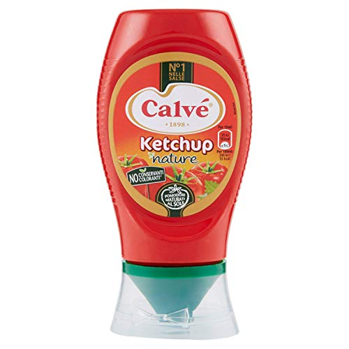 Calvè Ketchup Light Top Down - 250 Ml