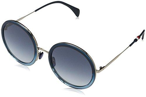 Tommy Hilfiger Damen TH 1474/S 08 WTA 53 Sonnenbrille, Blau Blue