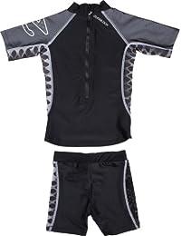 Amazon.es  Camiseta negra bebe - Niña  Ropa 31b4e0699ed58