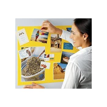 Gripping Stuff Notice Board Roll Yellow with SteriTouch