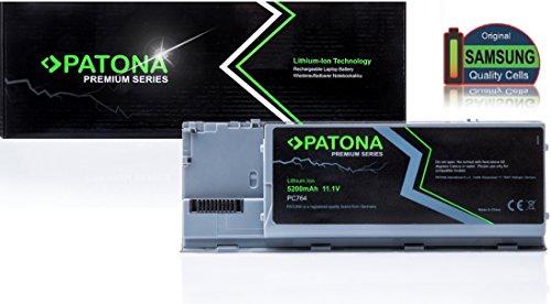PATONA Batterie Premium pour ordinateur portable pour Dell TG226 | Latitude D620 | D620 ATG | D620ATG | D630 | D630 ATG | D630 UMA | D630 XFR | D630ATG | D630c | D630UMA | D630XFR | D631 | Precision M2300 - [ Li-ion; 5200mAh; gris]