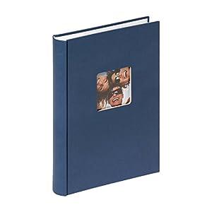 walther design ME-111-L Fun Memo-Album, blau, 300 Fotos, 10 x 15 cm