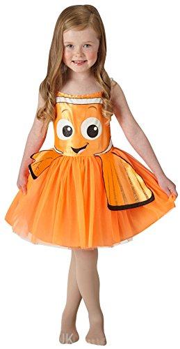 Imagen de niña rubies disney encontrar dory o nemo tutú infantil disfraz  naranja, 3 4 años