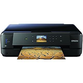 Epson Expression Premium XP-900 3-in-1 Tintenstrahl-Multifunktionsgerät (DIN A3 Drucker, Scanner, kopieren, WiFi, Duplex, CD/DVD Druck, Einzelpatronen) schwarz