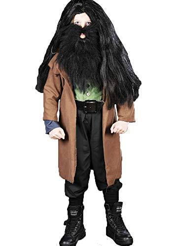 Kostüm Kind Hagrid - Magic Box Int. Kinder Größe Hagrid Style Fancy Dress Kostüme Small (5-7 Years)