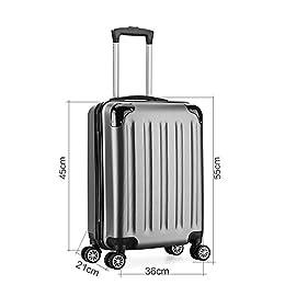 Acheter Valise cabine 55cm bagage a main ABS... en ligne