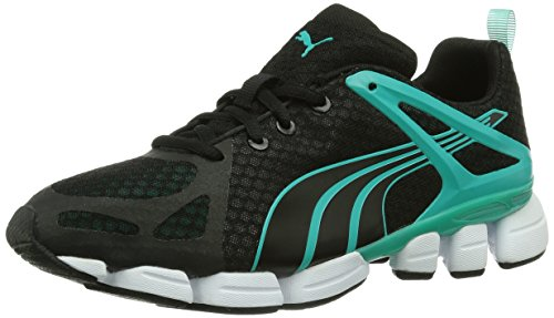 Puma Formlite S Ombre Wn's, Chaussures de fitness femme Noir - Schwarz (pool green-black-pool green 02)