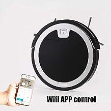DOLPHINEGG Robot aspiradora, 2D Mapa de navegación y Smart Memory Smart Phone WiFi App Control