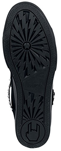 Black Premium by EMP Thunder Walk Scarpe Sportive Nero EU39 | Red Queen