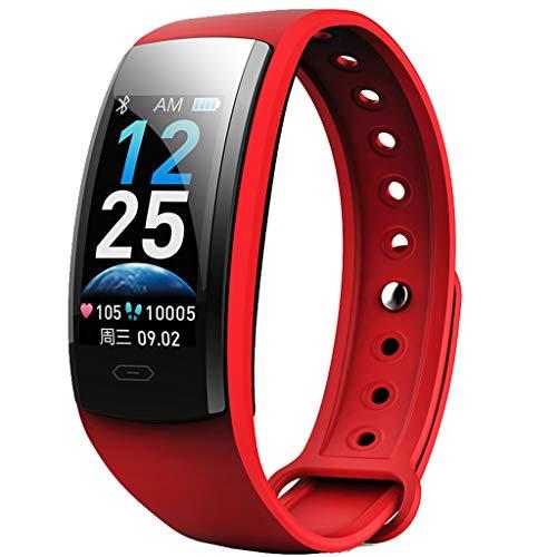 LRWEY Fitness Tracker, Smart Monitor Pulsmesser Armband Farbe Armband Armband Sport Activity Tracker, wasserdichte SchrittzäHler Uhr