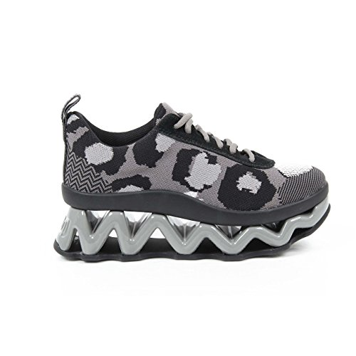 sneakers donna Marc By Marc Jacobs womens sneaker m9000501 cheetah intarsi 032 elephant-gr -- 36 eur - 6 us