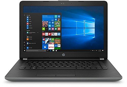 HP 14-BU004TU 2017 14-inch Lightweight, Laptop (Celeron N3060/4GB/500GB/Windows 10/Integrated Graphics), Smoke Grey image - Kerala Online Shopping