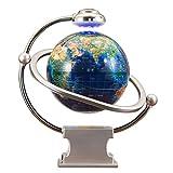 XHHWZB Magnetschwebebahn schwebende Weltkarte Globus, 8