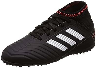 adidas Unisex-Kinder Predator Tango 18.4 TF Gymnastikschuhe, Mehrfarbig (FTWR White/Core Black/Real Coral S18), 36 2/3 EU