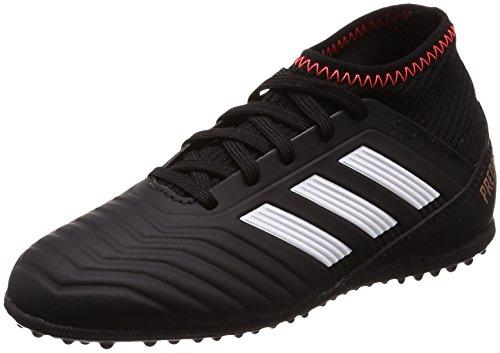 Adidas Predator Tango 18.3 TF J, Botas de Fútbol Unisex Niño, Negro (Negbas/Ftwbla/Rojsol 000), 29 EU
