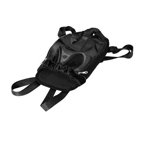 Mochila Bolsa para Perro Gato Mascota Viaje Color Negro Talla M