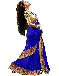 Priyanka Trends Saree For Women Latest Design And Pattern Collection 2018 New Arrival With Blouse Piece