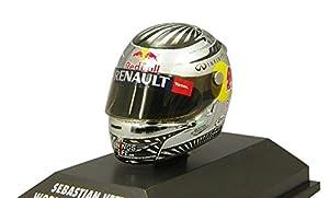 Minichamps - 381120201 - Vehículos Ready - Modelo para la Escala - Arai Vettel - campeón del Mundo de Sao Paulo 2012 - Escala 1/8