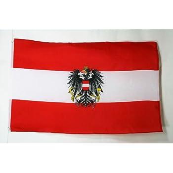 Az Flag Flagge österreich Mit Adler 90x60cm österreichische Fahne