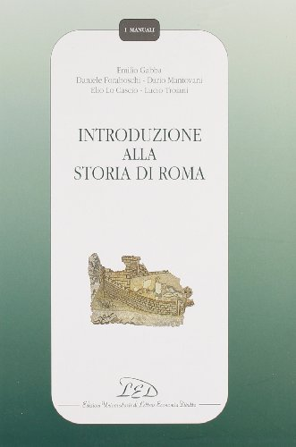 Introduzione alla storia di Roma