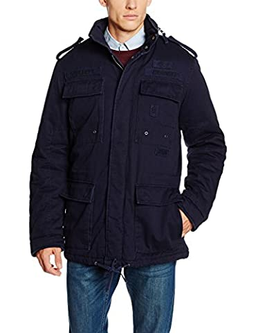 Brandit Herren Jacke Ryan M65 winterjacket, Gr. Small, Blau (navy