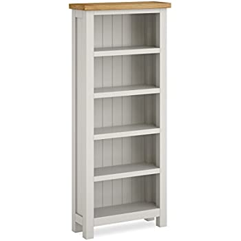 with painted bookcase ladder large fayence grey